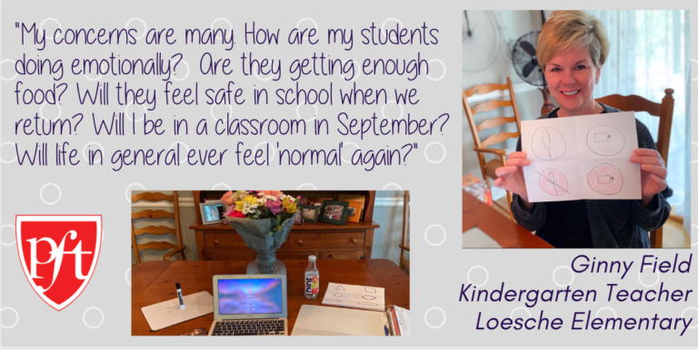 Quote from Ginny Field, Kindergarten Teacher, Loesche Elementary