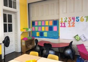 Photo: Empty classroom