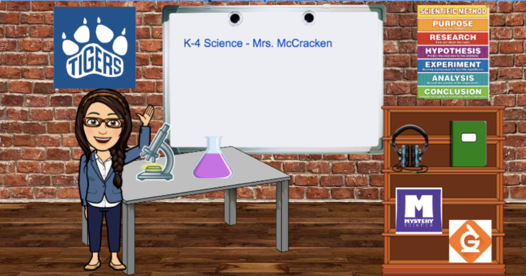 Virtual classroom image