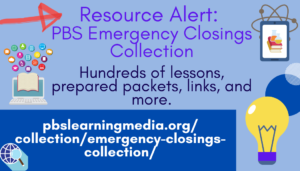 Resource Alert: PBS Emergency Closings Collection