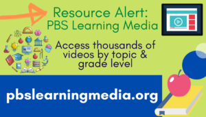 Resource Alert: PBS Learning Media