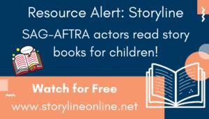 Resource Alert: Storyline