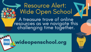 Resource Alert: Wide Open School